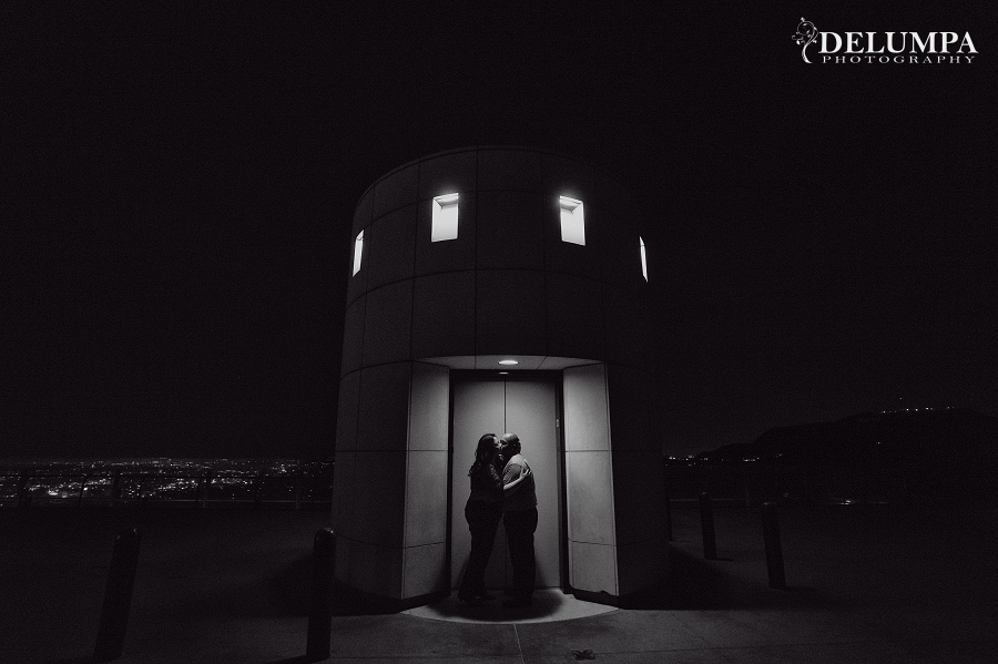 Los Angeles Union Station & Griffith Observatory Engagement Session | Christine & Eddie | Delumpa Photography