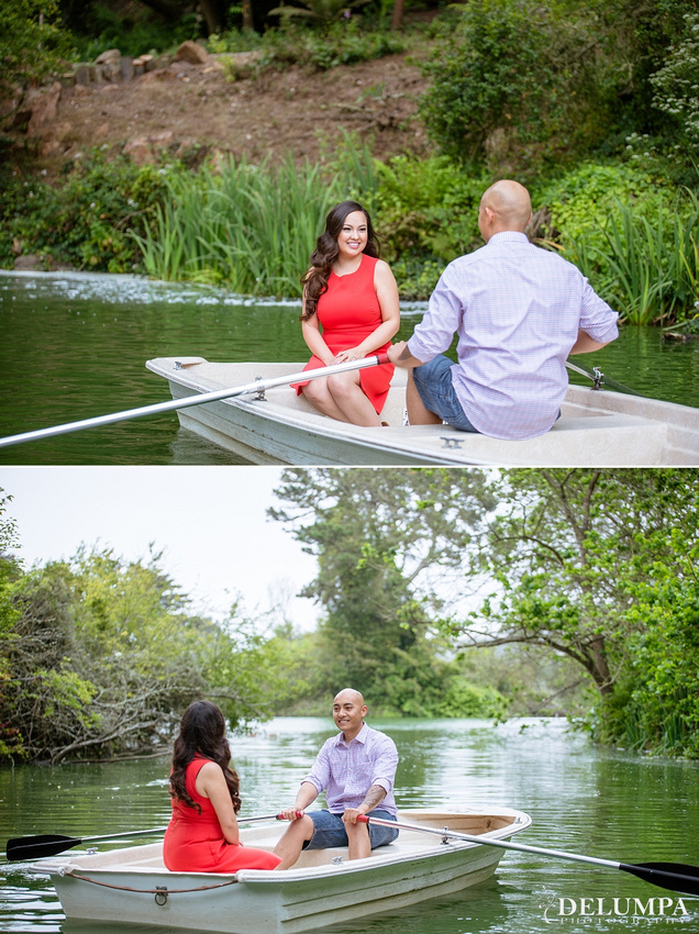 Stow Lake & Sutro Bath San Francisco Engagement Session | Tristine & Jordan | Delumpa Photography