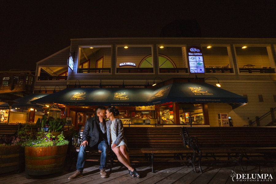 Embarcadero & Pier 39 Engagement Session | Janelle & Roel | Delumpa Photography