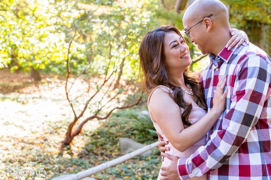 San Francisco Japanese Tea Garden & Crissy Field Engagement Session | Marjorie & Ejae | Delumpa Photography