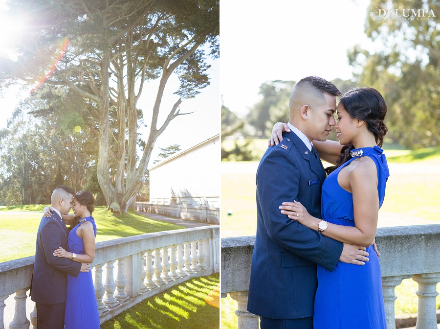 Legion of Honor & Lands End San Francisco Engagement Session | Maegen & Wendell | Delumpa Photography
